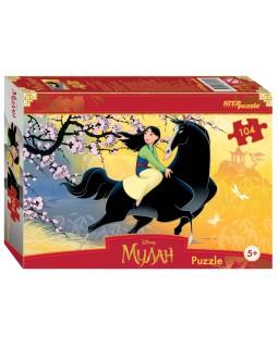 """Мозаика """"puzzle"""" 104 """"Мулан"""" (Disney)"""