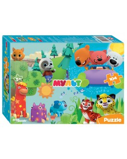 Мозаика puzzle 104 Ми-ми-мишки и др. Мульт