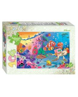 """Мозаика """"puzzle"""" 104 """"Подводный мир"""" (Любимые сказки)"""