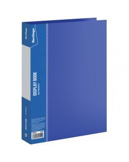"""Папка со 100 вкладышами Berlingo """"Standard"""", 30мм, 800мкм, синяя"""