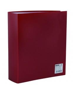 Папка со 100 вкладышами OfficeSpace, 30мм, 600мкм, красная