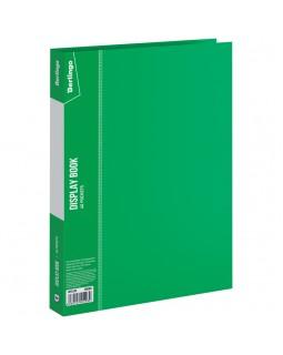 """Папка с 40 вкладышами Berlingo """"Standard"""", 21мм, 600мкм, зеленая"""