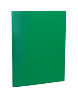 Папка с пружинным cкоросшивателем OfficeSpace, 14мм, 450мкм, зеленая