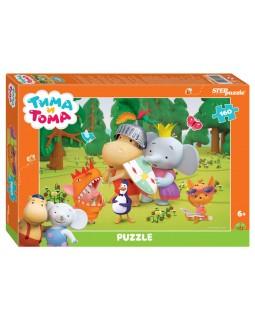 """Мозаика """"puzzle"""" 160 """"Тима и Тома"""" (Мармелад Медиа)"""