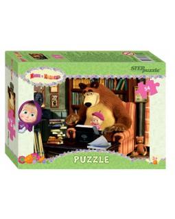 """Мозаика """"puzzle"""" 54""""Маша и медведь""""Анимаккорд"""