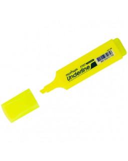 "Текстовыделитель MunHwa ""UnderLine"" желтый, 1-5мм"