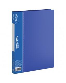 """Папка с 30 вкладышами Berlingo """"Standard"""", 17мм, 600мкм, синяя"""