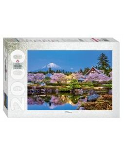"Мозаика ""puzzle"" 2000 ""Япония весной. Сидзуока"""