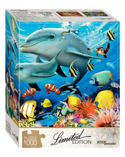 Мозаика puzzle 1000 Подводный мир (Limited Edition)