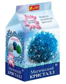 Набор для опытов Волшебный кристалл (синий)