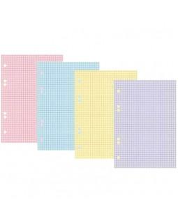 Сменный блок 200л., А5, Hatber, 4 цвета, тонированный