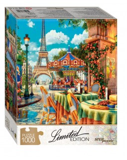 Мозаика puzzle 1000 Кафе в Париже (Limited Edition)