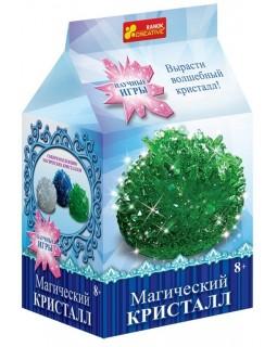 Набор для опытов Магический кристалл (зеленый)