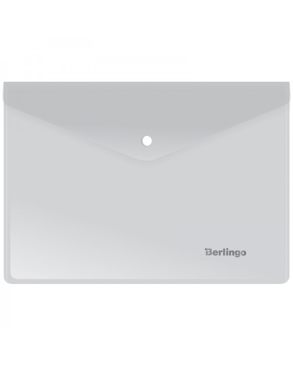Папка-конверт на кнопке Berlingo, A5+, 180мкм, матовая