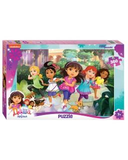 "Мозаика ""puzzle"" 360 ""Даша и друзья"" (Никелодеон)"