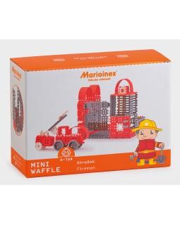 Конструктор - Вафельный мини Пожарник (L)