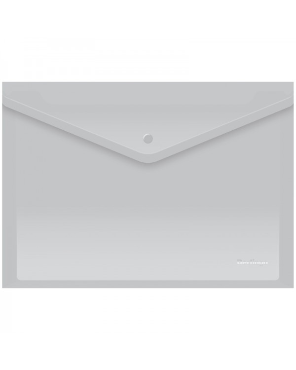 Папка-конверт на кнопке Berlingo, А4, 180мкм, матовая