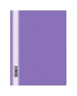 Папка-скоросшиватель пластик. OfficeSpace, А4, 160мкм, фиолетовая с прозр. верхом