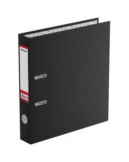 """Папка-регистратор Berlingo """"Standard"""", 50мм, бумвинил, с карманом на корешке, черная"""