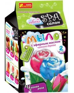 Мыло. Чайная роза. Набор для девочек