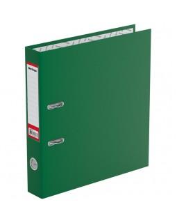 """Папка-регистратор Berlingo """"Standard"""", 50мм, бумвинил, с карманом на корешке, зеленая"""