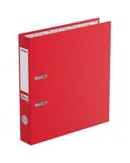 """Папка-регистратор Berlingo """"Standard"""", 50мм, бумвинил, с карманом на корешке, красная"""