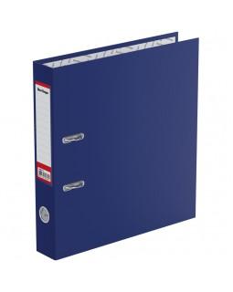"""Папка-регистратор Berlingo """"Standard"""", 50мм, бумвинил, с карманом на корешке, синяя"""