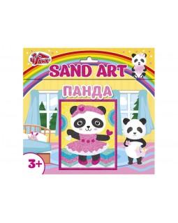Набор для творчества - Картинка из песка Панда