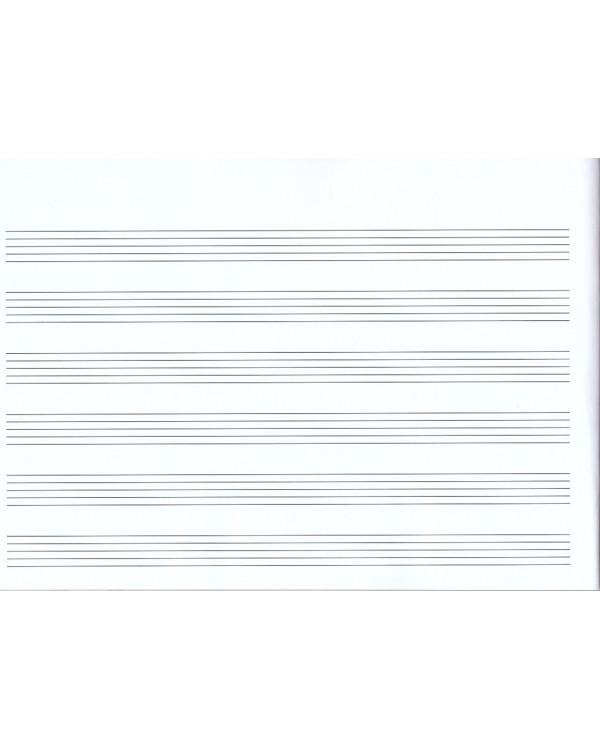 Тетрадь для нот. А4. 18 листов