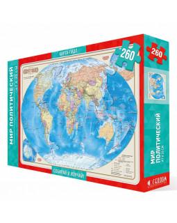 Карта-пазл. Мир политический
