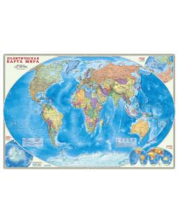 Мир политический. Настенная ламинированная карта 101*69 см