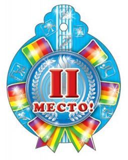 Медаль. 2-е место. М-4892