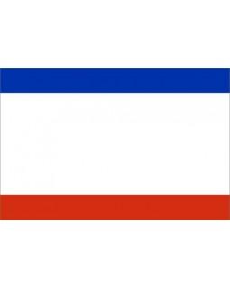 Флаг Республики Крым (сшитый) 800*1200 мм