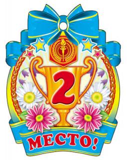 Медалька 2 место! М-7651