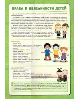 Права человека. Права ребенка. Комплект плакатов А2