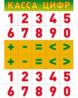 Касса цифр Ш-7706 Мини-плакат А4