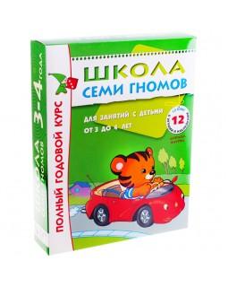 Полный годовой курс занятий с детьми 3-4 лет (12 книг в подарочной упаковке)