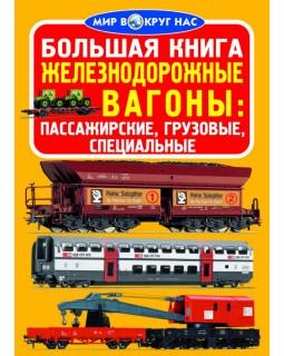 Большая книга. Железнодорожные вагоны: пассажирские, грузовые, специальные