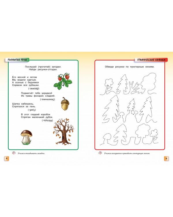 Грамотейка. Интеллектуальное развитие детей 5-6 лет