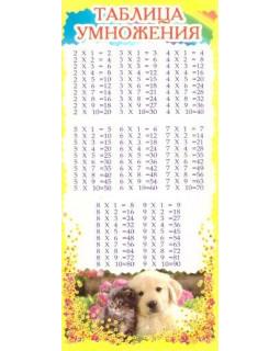 Карточка таблица умножения ШМ-6318