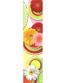 Закладка цветы М-7492