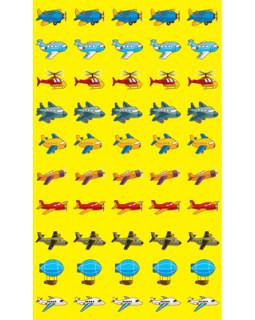 Набор для поощрения на самоклеящейся бумаге Самолетики НМ-7735