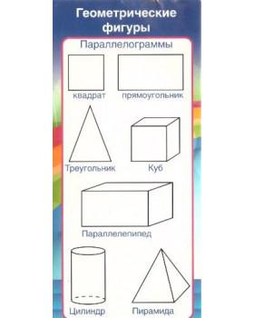 Карточка Запомни! Геометрические фигуры ШМ-8079