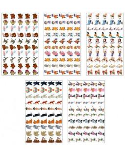 Комплект наклеек для поощрения Союзмультфильм. 5 видов *КНМ2-12809