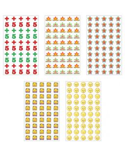 Комплект наклеек для поощрения. 5 видов *КНМ1-11961