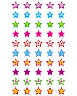 Набор для поощрения на самоклеящейся бумаге Звезды! НМ-8248