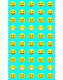 Набор для поощрения на самоклеящейся бумаге Смайлики НМ-8104