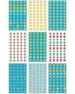 Комплект наклеек для поощрения. 5 видов *КНМ1-10557