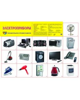 """Демонстрационный плакат А2 """"Электроприборы"""""""