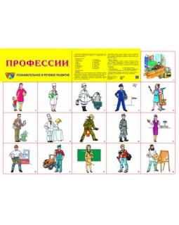 """Демонстрационный плакат А2 """"Профессии"""""""